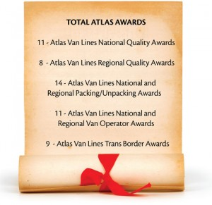 Total atlas awards