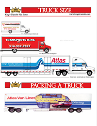 King's truck sizes